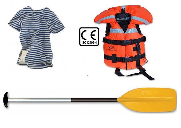Vodácké vybavení pro děti