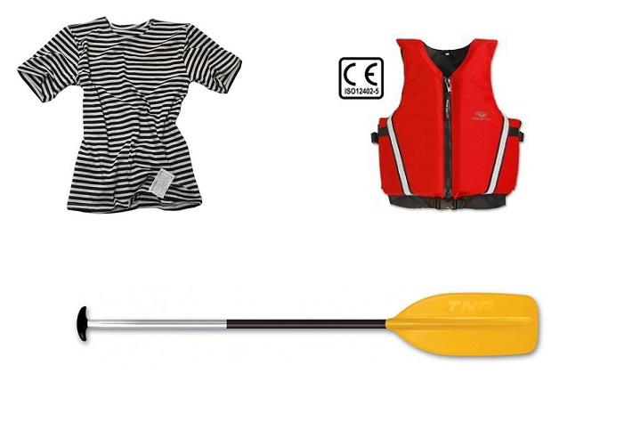 Vodácké vybavení pro dospělé